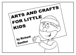 051_Arts_Crafts: Art and craft; Art and craft book; BW