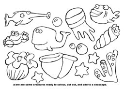 081_Arts_Crafts: Art and craft; Art and craft book; BW