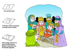 04_Bible_Story_Folding_Craft: Art and craft; Bible story; Colour