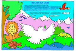 18_Adam_Eve_Game: Art and craft; Colour; Games