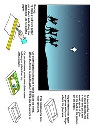 06_Christmas_Crafts: Art and craft; Bible story; Colour; Christmas; Line Art