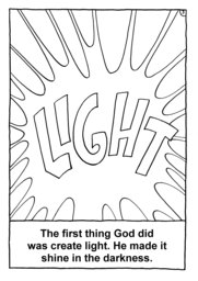 04_Colouring_Creation: Art and craft; Bible story; BW; Coloring; Colouring