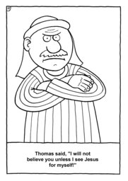 13_Colouring_Jesus_Alive: Art and craft; Art and craft book; Bible story; Black and white; BW; Coloring; Colouring; Line Art