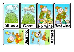 10_Bible_Pairs_Games: Art and craft; Colour; Games; Puzzles