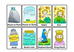 07_Bible_Cards: Bible Books; Colour; Games; Puzzle
