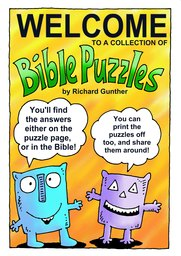 001_Bible_Puzzles: Colour; Games; Puzzle