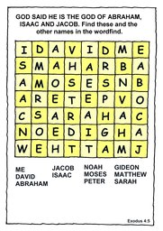 063_Bible_Puzzles: Colour; Games; Puzzle