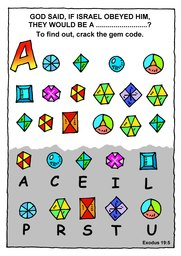 091_Bible_Puzzles: Colour; Games; Puzzle