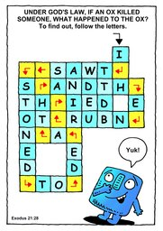 097_Bible_Puzzles: Colour; Games; Puzzle