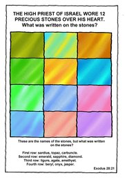104_Bible_Puzzles: Colour; Games; Puzzle