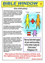 025_Bible_Window: Bible topics; Colour