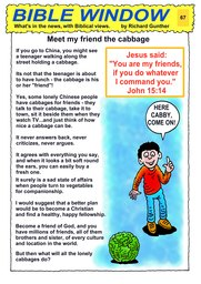 067_Bible_Window: Bible topics; Colour