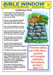 073_Bible_Window: Bible topics; Colour