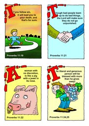 09_Bible_Proverbs: Bible topics; Colour; Proverbs