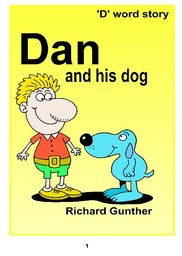 01_Dan_Dog: Alphabet; Animals; BW; Reading books