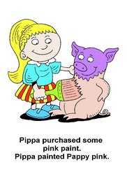 09_Pippa_Pig: Alphabet; Animals; Colour; Reading books
