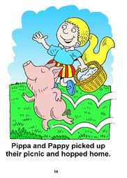 14_Pippa_Pig: Alphabet; Animals; Colour; Reading books