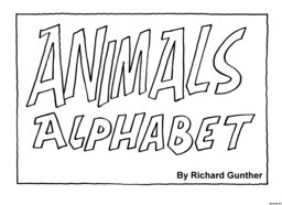 25_Animal_Alphabet: Alphabet; Animals