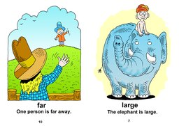 06_Big_Far_Fast_Words: Action words; Colour; Verbs