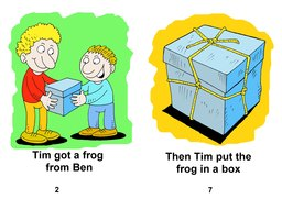 02_Level_2_1_Tim's_Frog: Colour; Reading books