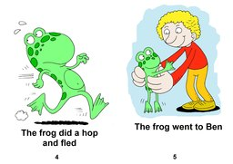 03_Level_2_1_Tim's_Frog: Colour; Reading books
