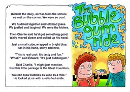 01_Bubble_Gum: Action words; Colour; Poetry; Rhymes
