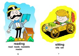 22_Your_Day: Colour; Grammar; Reading books