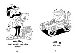 30_Your_Day: BW; Grammar; Reading books
