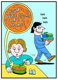 157_Jokes: Cartoons; Colour; Jokes