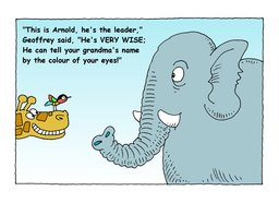 12_Arnold_Elephant: Bible story; Colour; Story