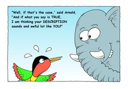 25_Arnold_Elephant: Bible story; Colour; Story