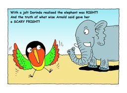 26_Arnold_Elephant: Bible story; Colour; Story