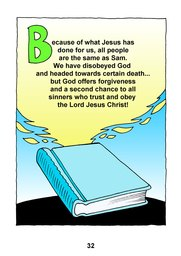 32_Sam: Bible story; Colour; Story