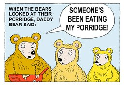 23_Three_Bears: Bible; Story