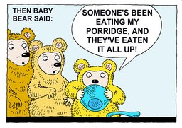 25_Three_Bears: Bible; Story